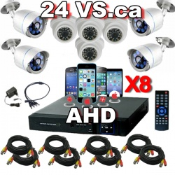 Systeme de Surveilance-ahd-8-cameras-bullet-dome-enregistreur--video-surveillance_outdoor