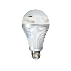 Wi-Fi Bulb Light Surveillance Camera 1.3 MP